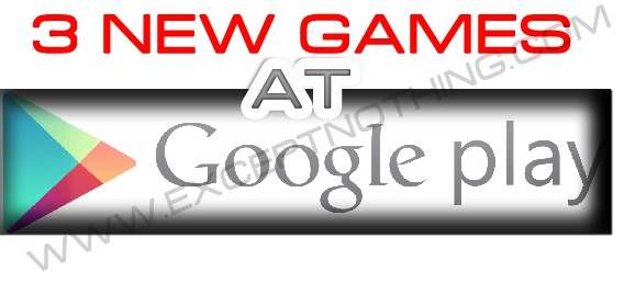 Google Play 3 New Games