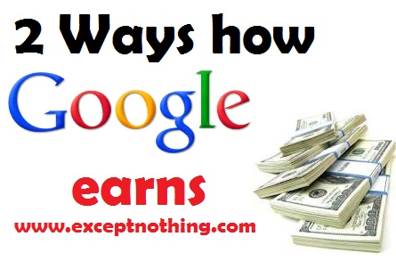Google Earns Money
