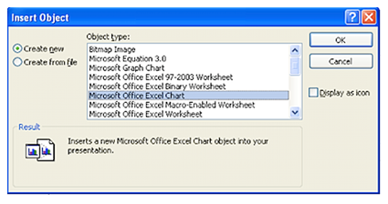 Excel to Powerpoint