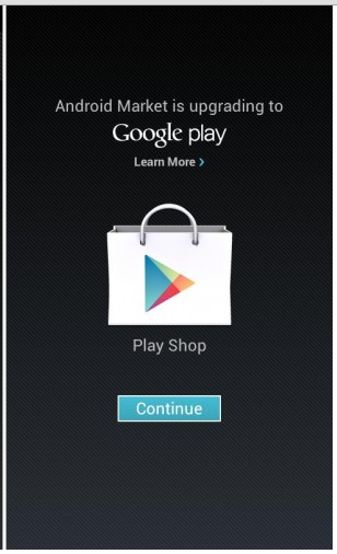 Update Android Market to Google Play