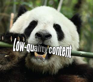 Google-Panda - Low Quality Content